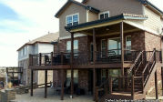 Custom Deck built by Centennial Custom Decks in Colorado