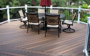 centennial custom deck patio during the day