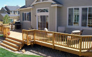 custom deck in Colorado built by Centennial Custom Decks