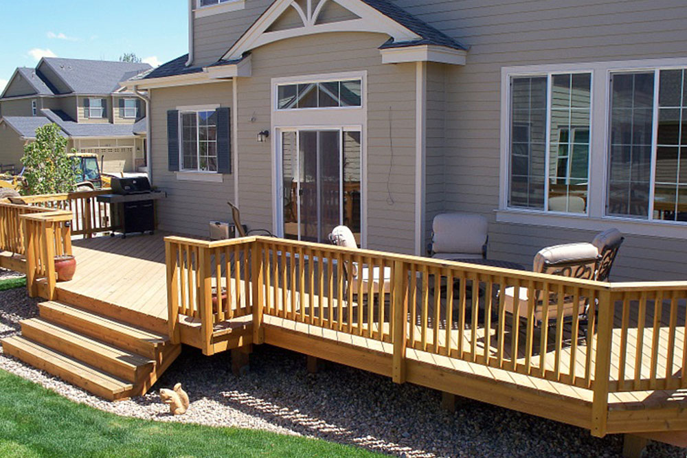 Deck builders denver custom decks deck contractor for What is the best wood for decking